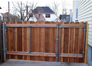 Cedar Fencing Plus Gates